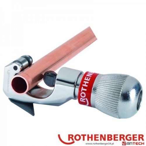 Rothenberger Rotrac 28 Plus Chrome Copper Pipe Cutter 1/8in - 11/8in